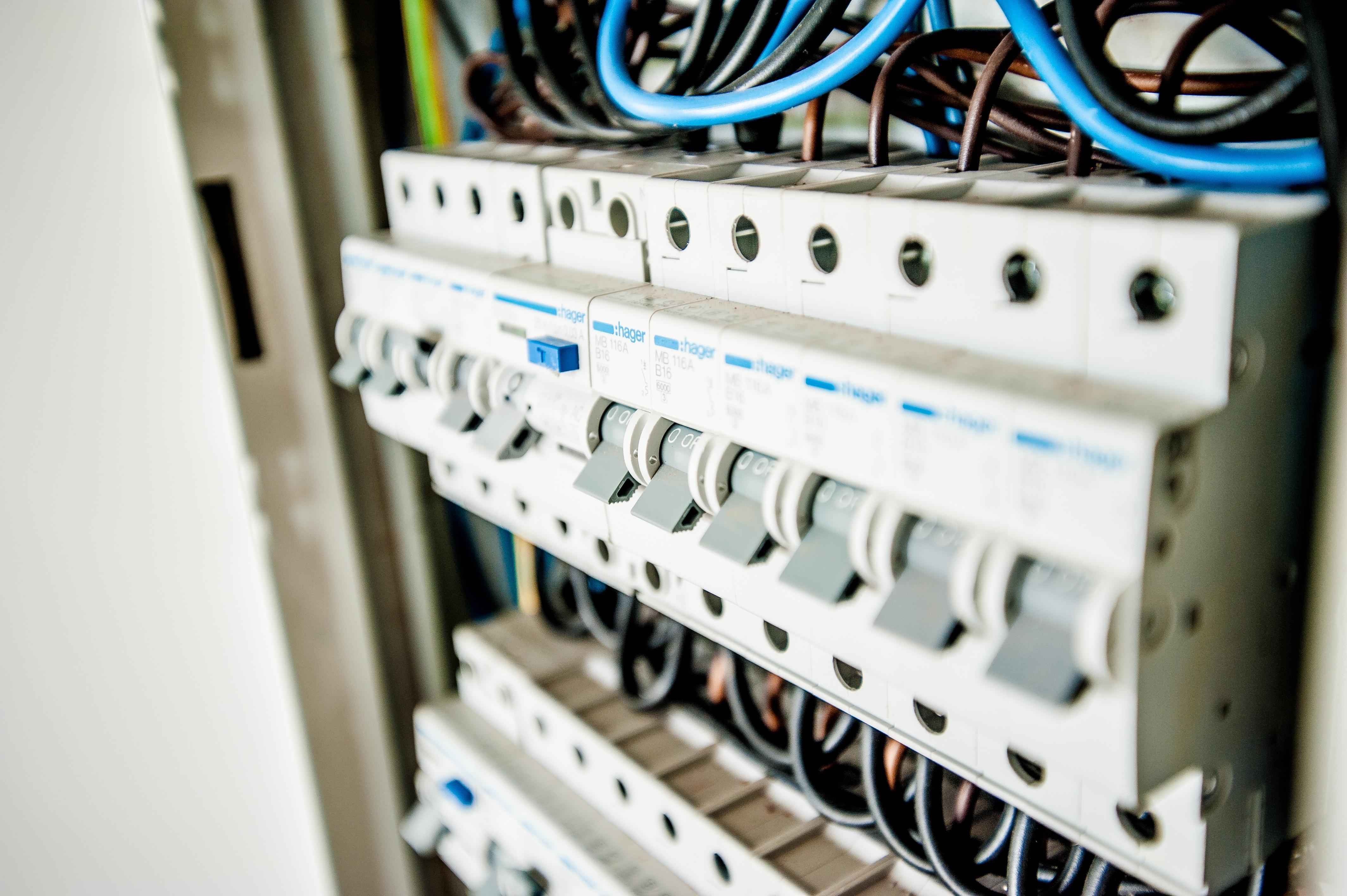 Elektroinstallation Sicherungen