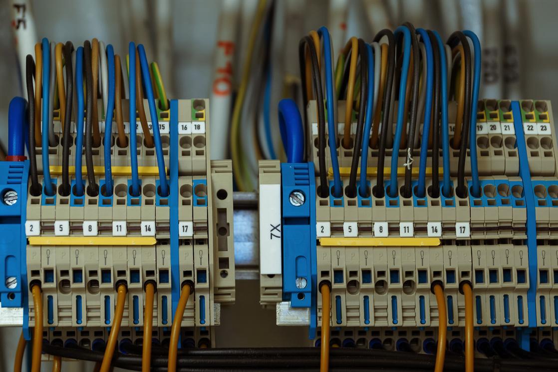 Elektroinstallation Stromkasten vertrahtung