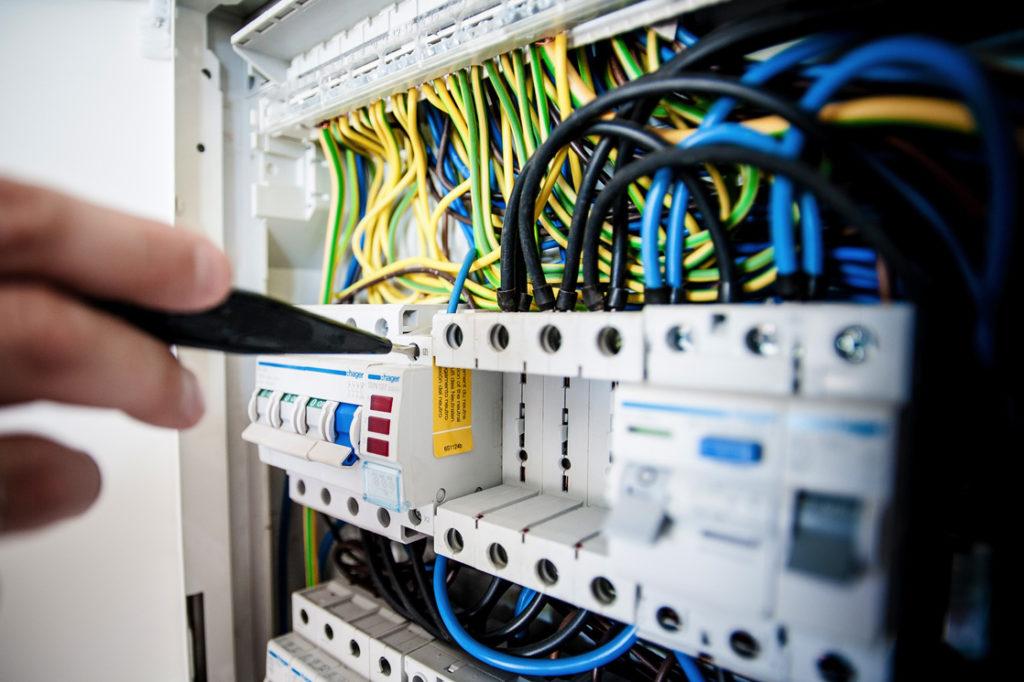 Elektroinstallation Stromkasten