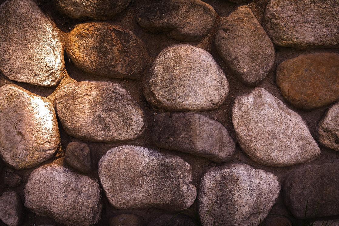 pflasterarbeiten runde steine