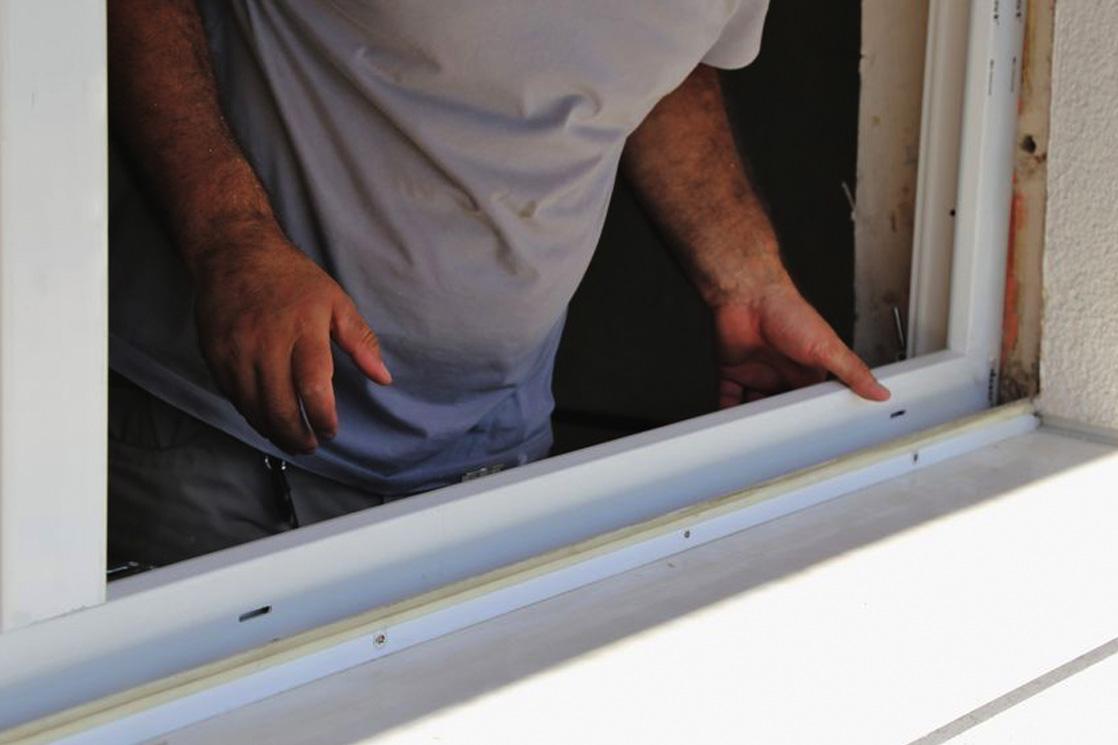 Zimmermann Arbeiten Fenstereinbau